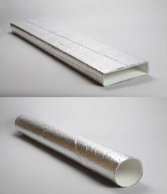 Insulated rigid ducting