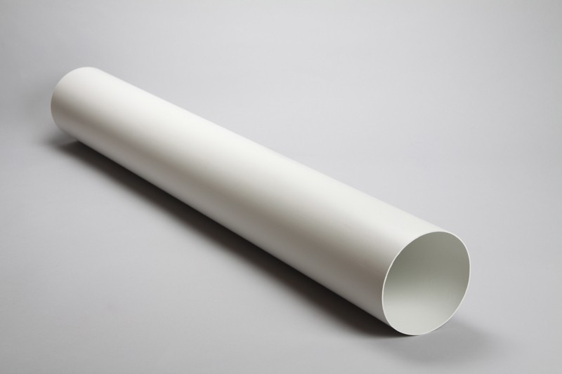 Round rigid pipe 100mm internal diameter ducting