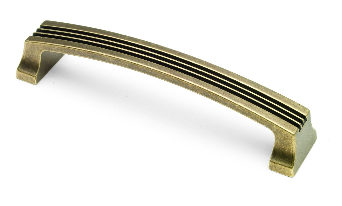 Cromwell D handle ribbed 160mm centres antique effect
