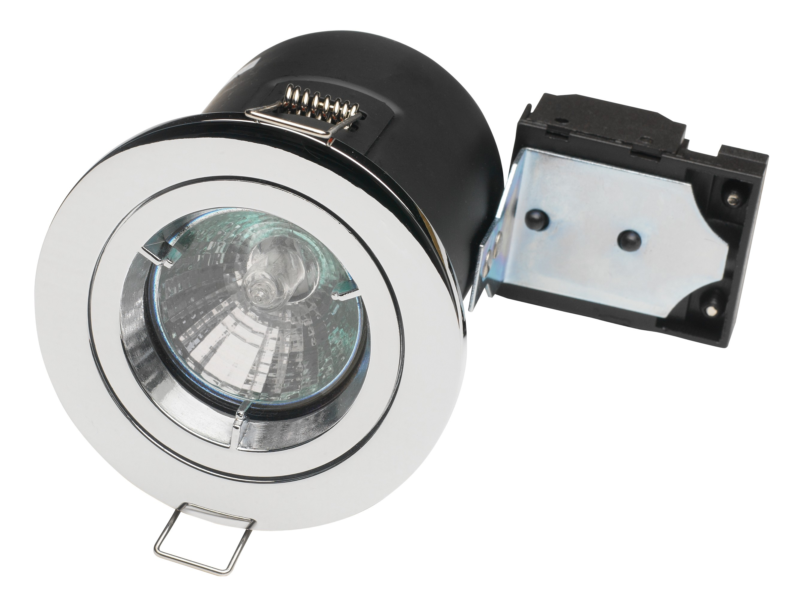 Fire rated downlight mains fixed GU10