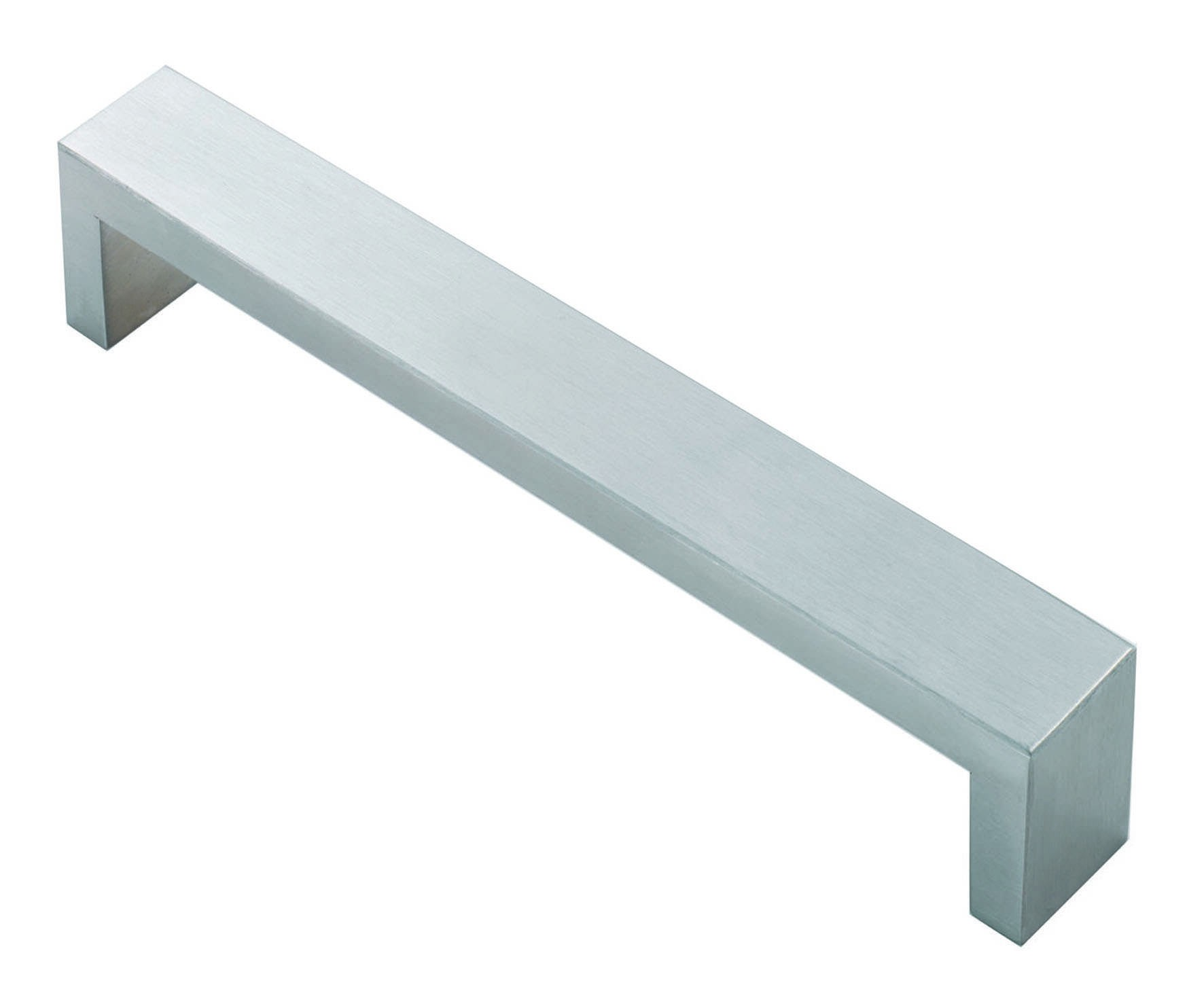 Rectangular section d handle stainless steel