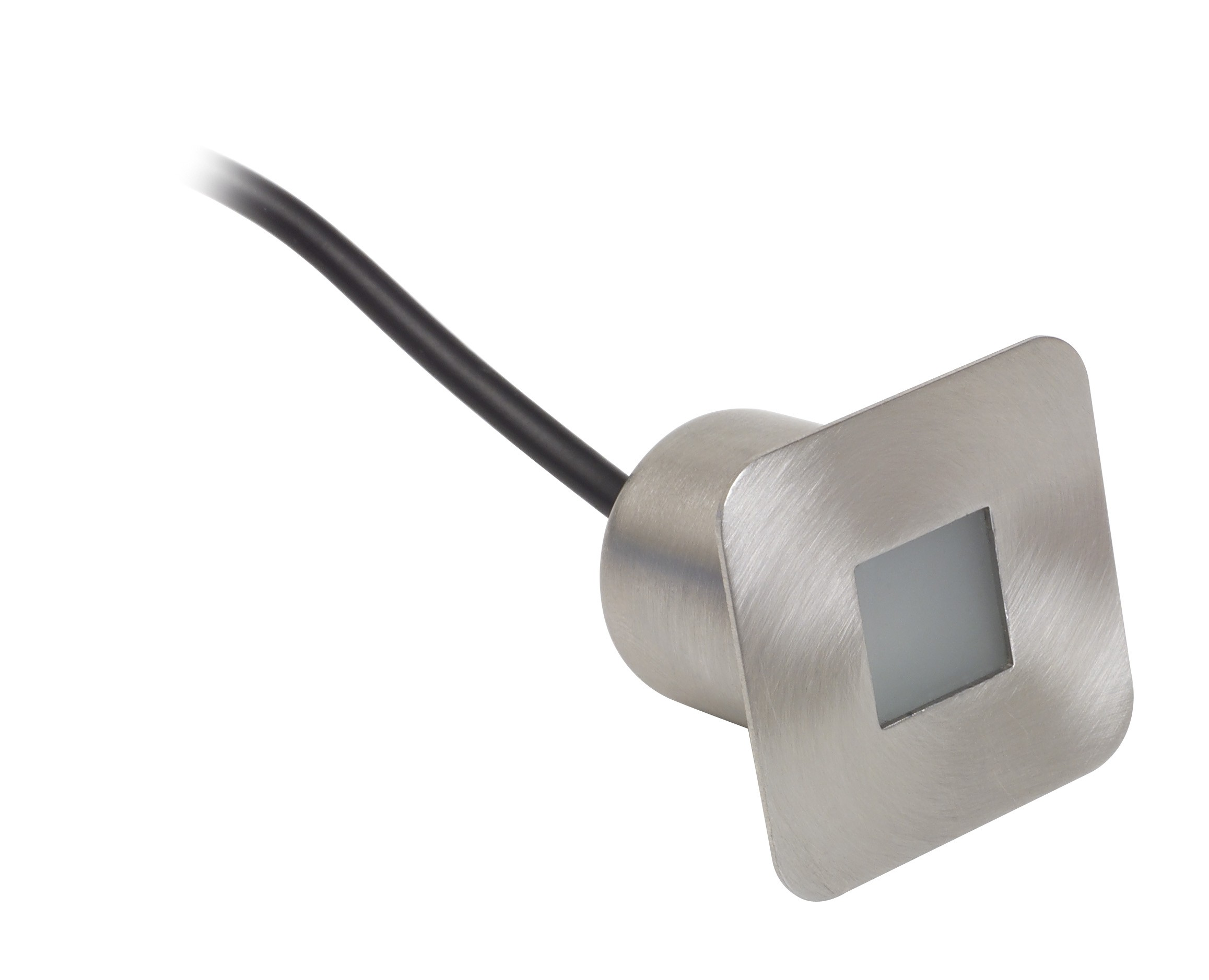 LED plinth light square head white LED stainless steel
