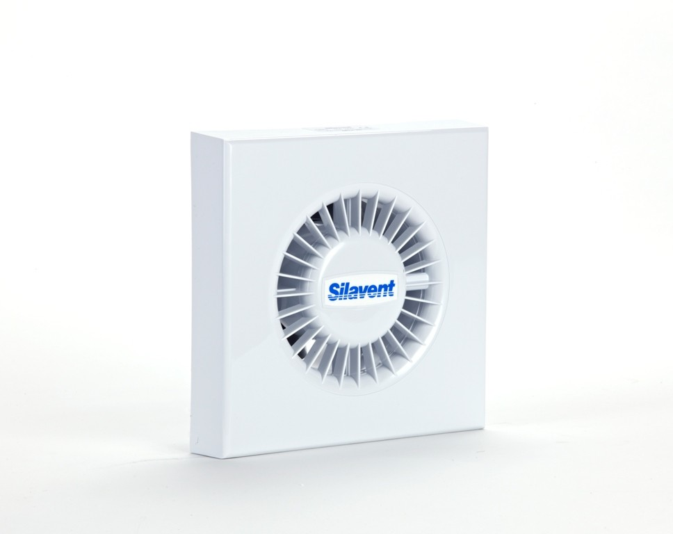 Silavent 100mm axial pull cord fan mains