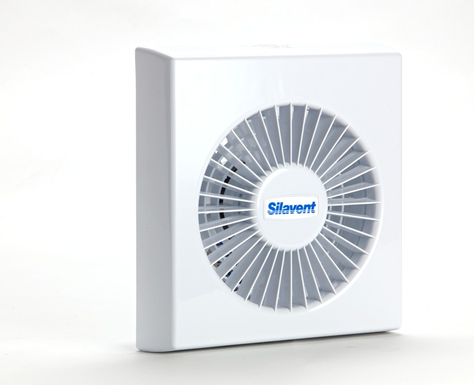 Silavent 150mm axial timer fan mains
