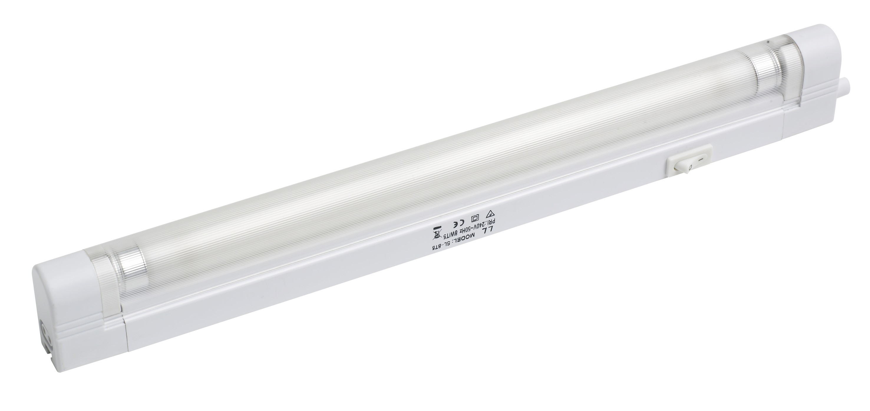 Slimline fluorescent cabinet light 6w T5 length 267mm