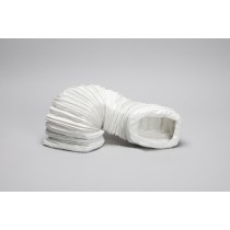 3 metre rectangular flexible pvc hose 112mm x 56mm