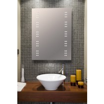 Bathroom mirror Bali LED clusters