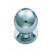 Ball knob polished chrome