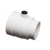Condensation trap for 125mm & 150mm ducting pipe