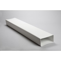 220mm x 90mm rectangular flat channel 1 metre, 1.5 metre or 2 metre