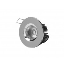 Elan LED COB fixed fire rated downlight round bezel