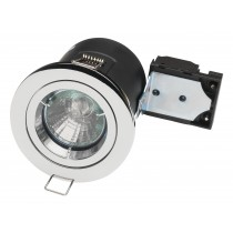Fire rated downlight 12volt fixed MR16