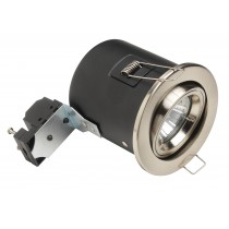 Fire rated downlight 12volt tilt MR16