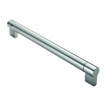 Large keyhole 22mm satin nickel stainless steel