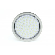 Circular recessed GX53 LED 3.5w stainless steel