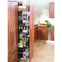 Larder pullout soft close reduced depth for 300mm unit